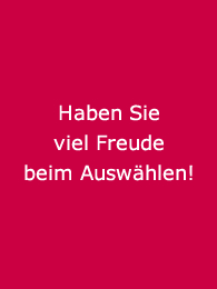 Bea Engelmann: Viel Freude beim Auswählen!